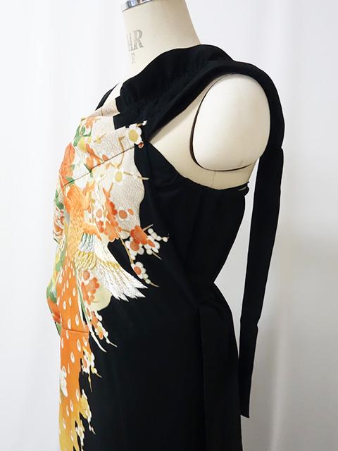 巻きスカート留袖ドレス