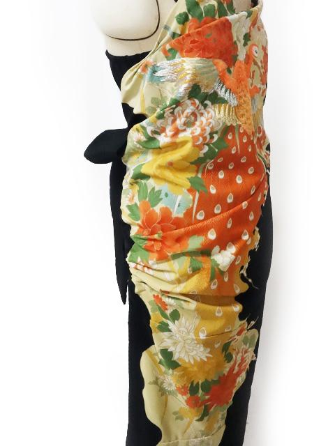 シャーリングドレス